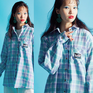 Mint Check Shirt
