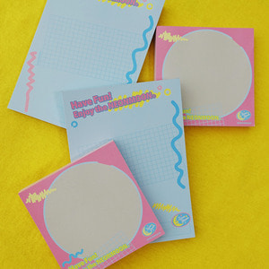 [Stationery] Have Fun! Memo Pad