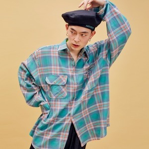 D19S Check Shirt (Green)