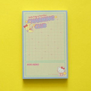 [HELLO KITTY Loves NEONMOON] Memo Pad