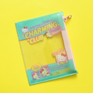 [HELLO KITTY Loves NEONMOON] PVC Pouch