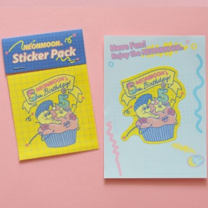 [Sleepy World] 5th Anniversary Sticker