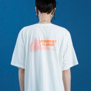 [ND] Dusty T-SHIRT (White)