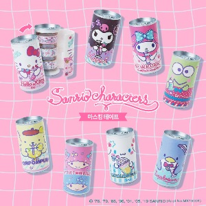 [Sanrio] Can Masking Tape Set