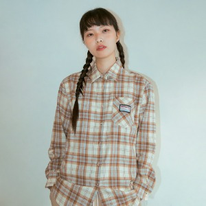 19W Check Shirt (SkyBlue)