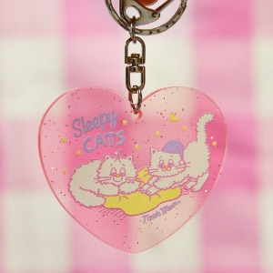 [Sleepy World] Sleepy Cat Key Holder