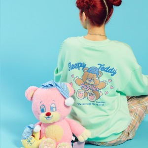 Teddy Sweat Shirt (Mint)