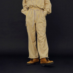 [ND.] 20FW Check Pants (Yellow)