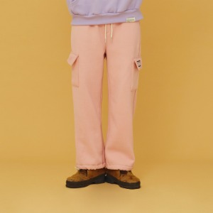 20FW Cotton Pocket Pants (Pink)